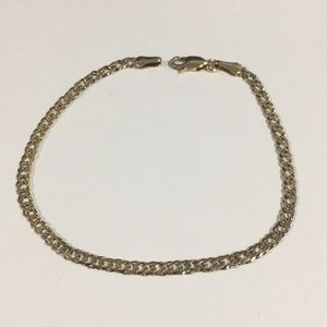 Jewelry - 10k Yellow Gold Double Gucci Link Bracelet